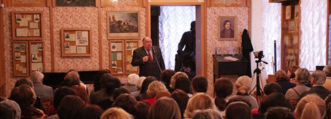 Павло Гриценко провів у Музеї лекцію про мову