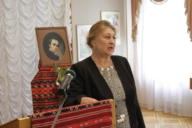 Учасників читань привітала генеральний директор Національного музею літератури України Галина Сорока